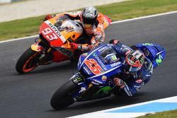Maverick Viñales, Yamaha Factory Racing, Marc Márquez, Repsol Honda Team