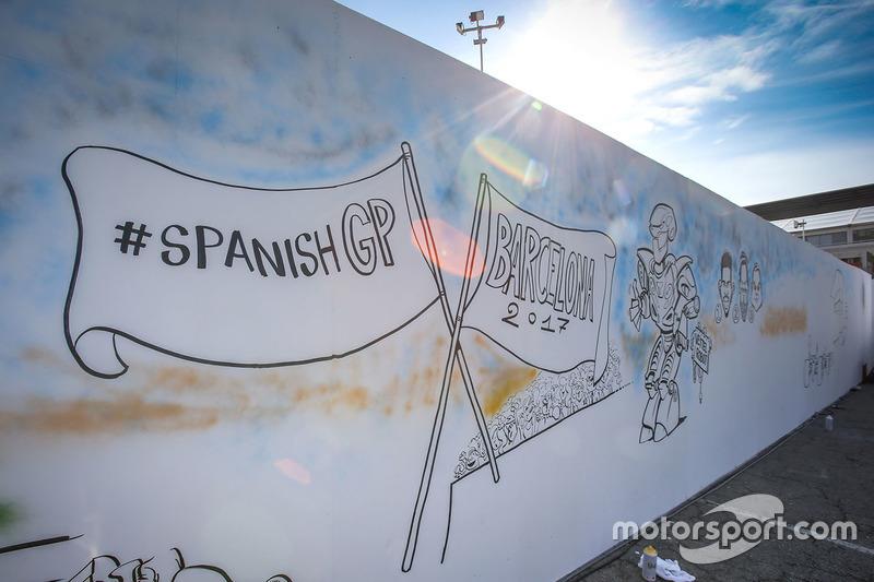 Шарж на Гран При Испании