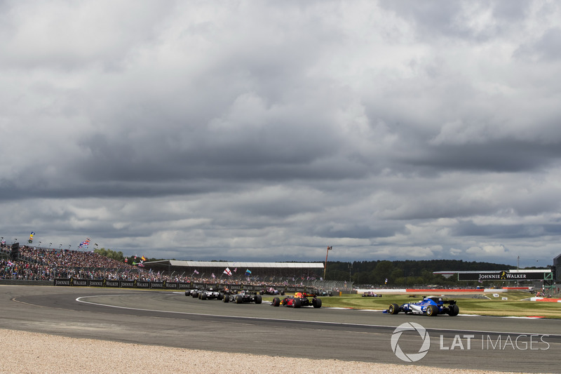 Даніель Ріккардо, Red Bull Racing RB13, Маркус Ерікссон, Sauber C36