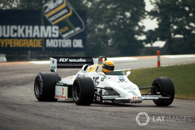 Айртон Сенна, Williams FW08C