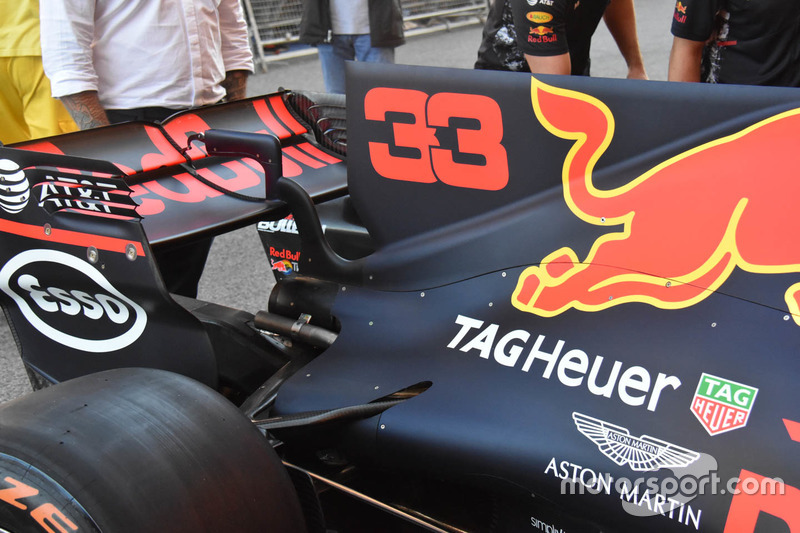 Деталь Red Bull Racing RB13