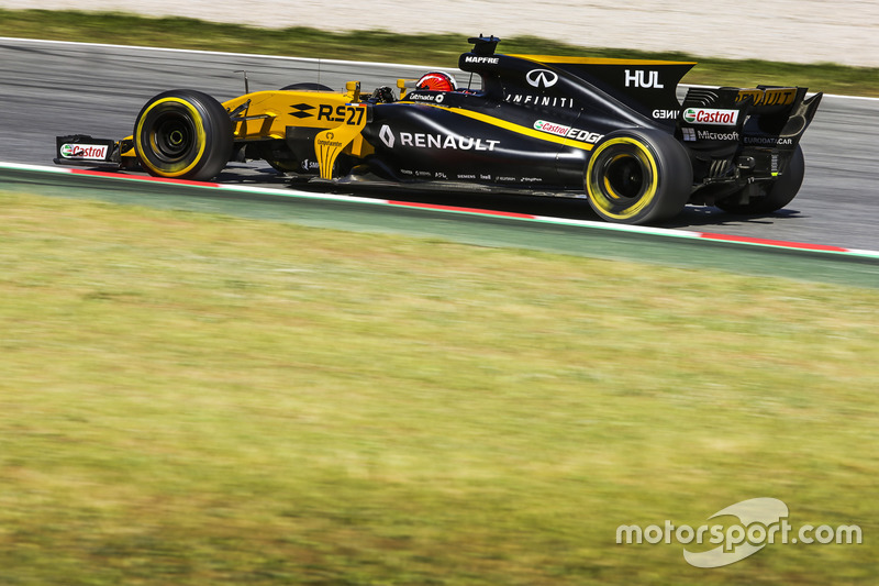 13: Нико Хюлькенберг, Renault Sport F1 Team RS17