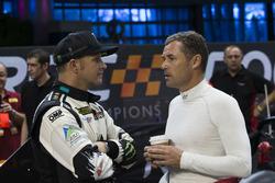 Tom Kristensen and Petter Solberg, talk