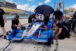 Ricky Taylor testing the Team Penske Chevrolet of Simon Pagenaud