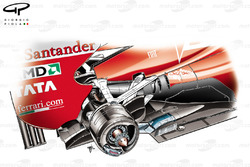 Ferrari F150 exhausts and rear brakes