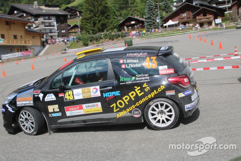 Sascha Althaus, Lisiane Zbinden, Citroën DS3 R1, Lugano Racing Team