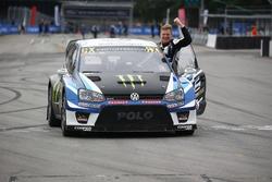 Переможець Йохан Крістофферссон, PSRX Volkswagen Sweden, VW Polo GTi