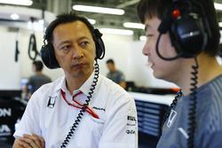 Юсуке Хасегава, директор Honda в Ф1