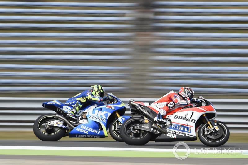 Andrea Iannone, Team Suzuki MotoGP, Andrea Dovizioso, Ducati Team