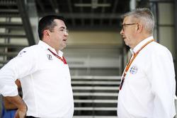 Eric Boullier, McLaren con Ross Brawn