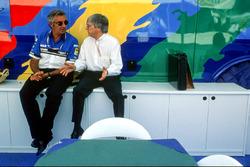 Берні Екклстоун і Флавіо Бріаторе (Benetton)