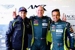 Ganadores de la pole GTE-Am: #98 Aston Martin Racing Aston Martin Vantage: Paul Dalla Lana, Pedro La