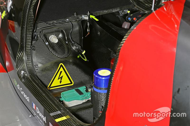 Detail Cockpit, #8 Audi Sport Team Joest Audi R18