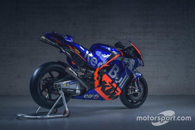 La moto di Miguel Oliveira, Red Bull KTM Tech 3