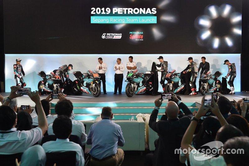 Petronas Yamaha lansmanı
