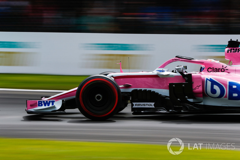 8. Sergio Perez, Racing Point Force India VJM11