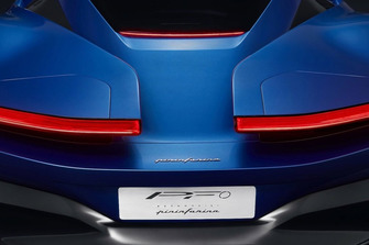 Pininfarina PF0 teaser
