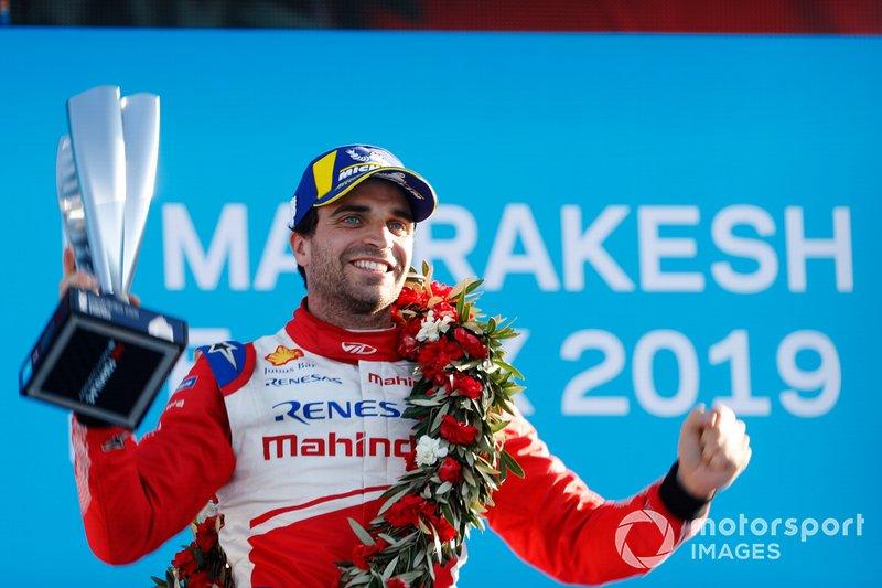 Podio: ganador de la carrera Jérôme d'Ambrosio, Mahindra Racing