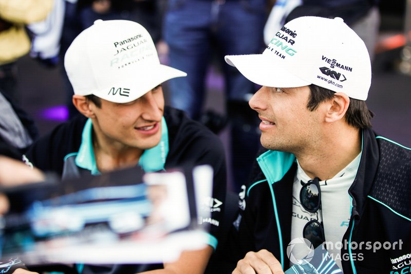 Nelson Piquet Jr., Jaguar Racing, Mitch Evans, Jaguar Racing