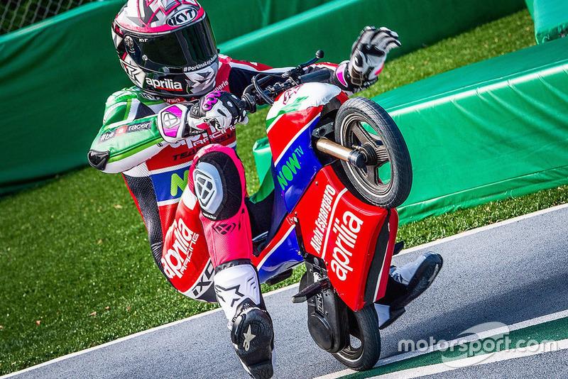 Алейш Еспаргаро, Aprilia Racing Team Gresini, гонка міні-мото