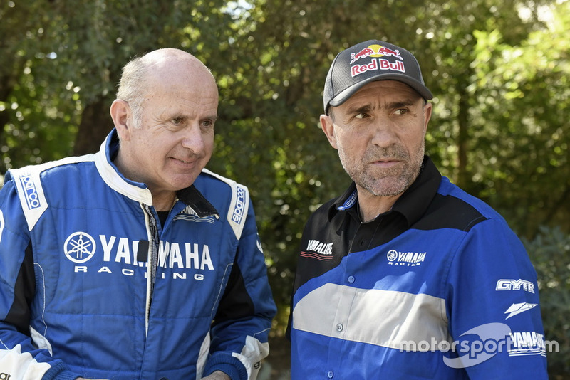 #200 Yamaha Racing: Stephane Peterhansel