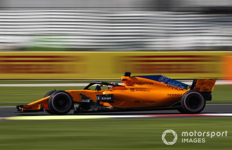 22. Lando Norris, McLaren