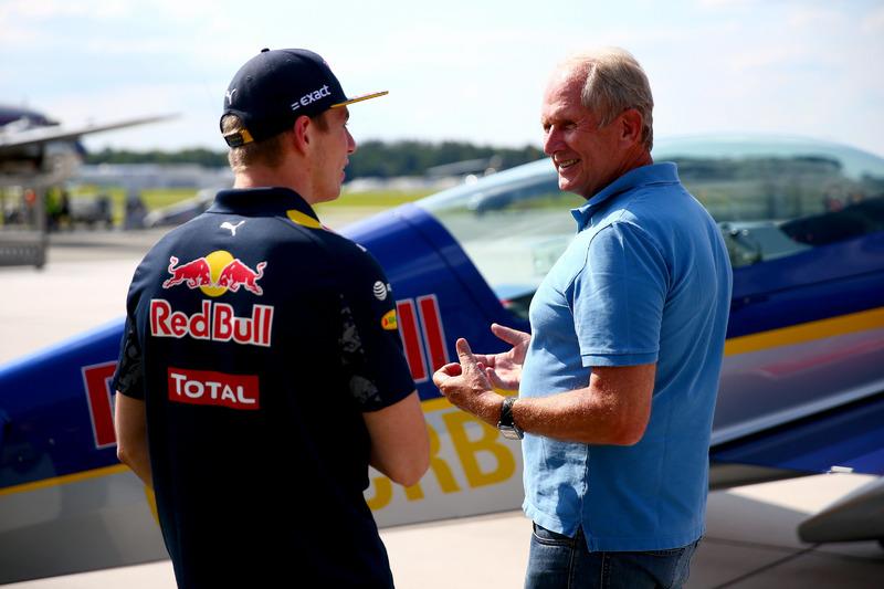 Dr. Helmut Marko ve Max Verstappen, Red Bull Racing