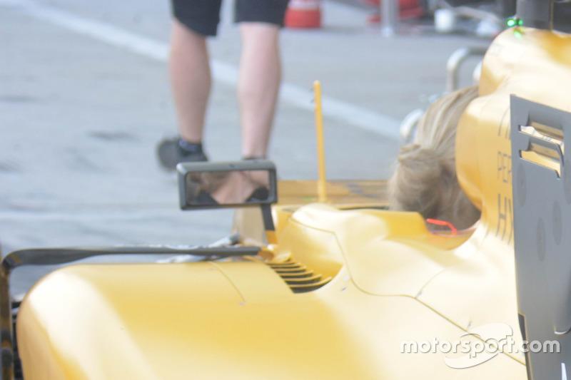 Renault Sport F1 Team RS16: Einschnitte am Heckflügel