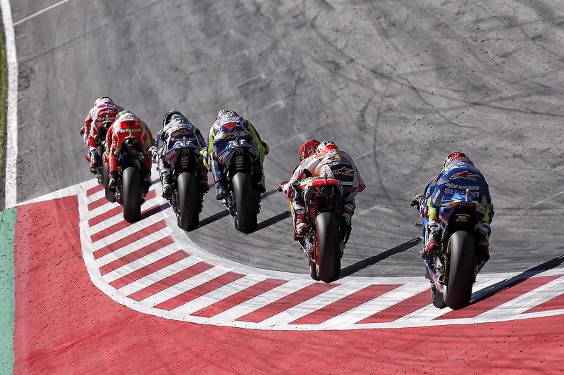 Marc Marquez, Repsol Honda Team, Valentino Rossi, Yamaha Factory Racing, Jorge Lorenzo, Yamaha Facto