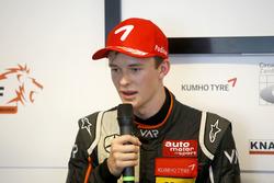Press Conference: Callum Ilott, Van Amersfoort Racing Dallara F312 - Mercedes