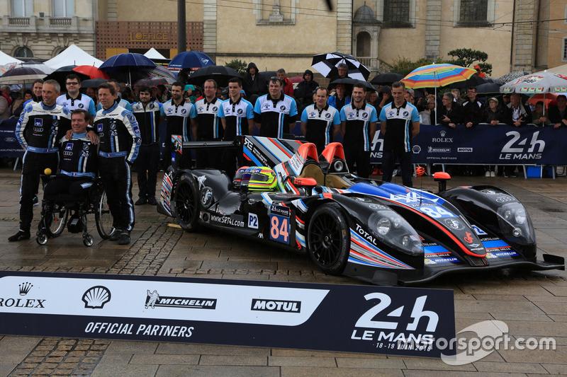 24h Le Mans: #84 SRT41 by Oak Racing mit Sausset/Tinseau/Bouvet