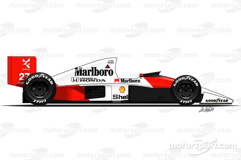 1990 - McLaren MP4-5B