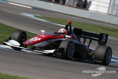 Mazda Road a pruebas Indy