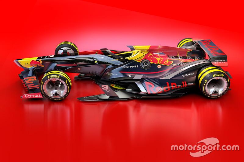 Red Bull Racing 2030 fantasy design