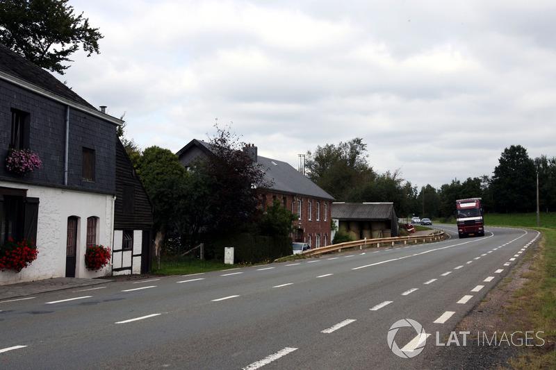 El pueblo de Masta, parte del legendario circuito antiguo de Spa