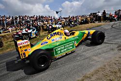 Lorina McLoughlin Benetton F1