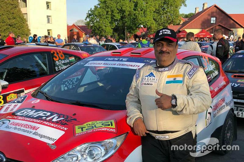 Annuncio Sanjay Takale WRC3