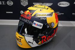 Speciale helm van Max Verstappen, Red Bull Racing