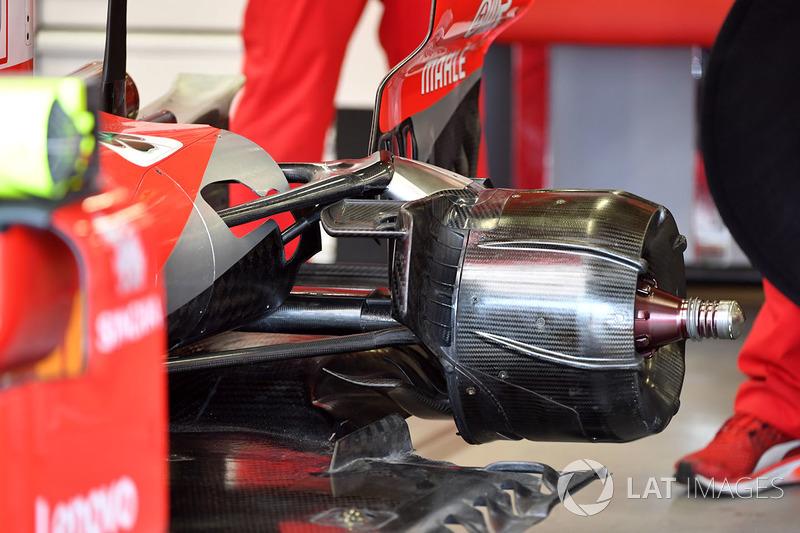 Ferrari SF71H arka teker