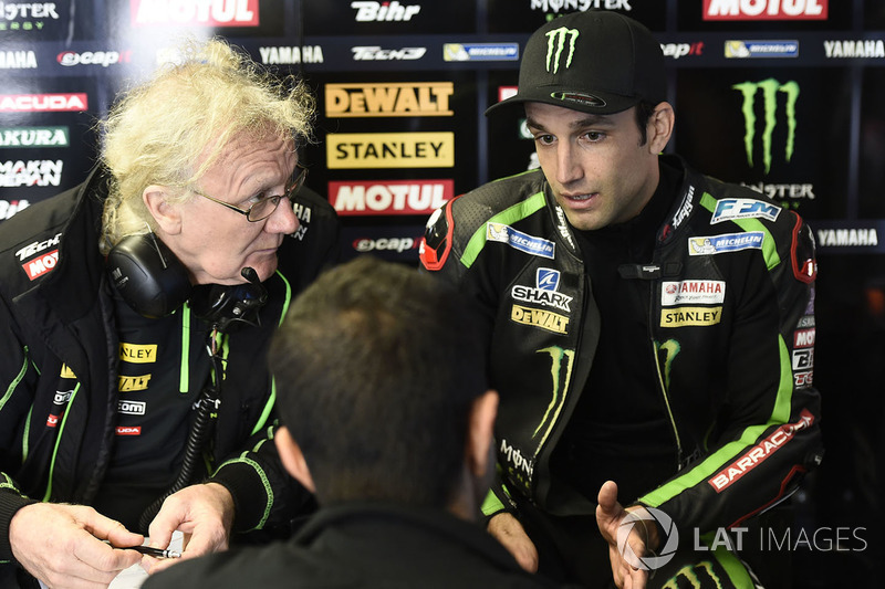 Johann Zarco et Guy Coulon