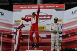 Podium: Ganador, #111 Wilde World of Cars Ferrari 488: Peter Ludwig, Northern America Challenge
