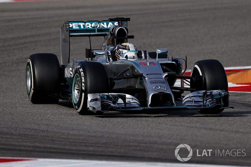 2014: Lewis Hamilton
