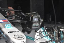Mercedes-AMG F1 W09 front brake detail