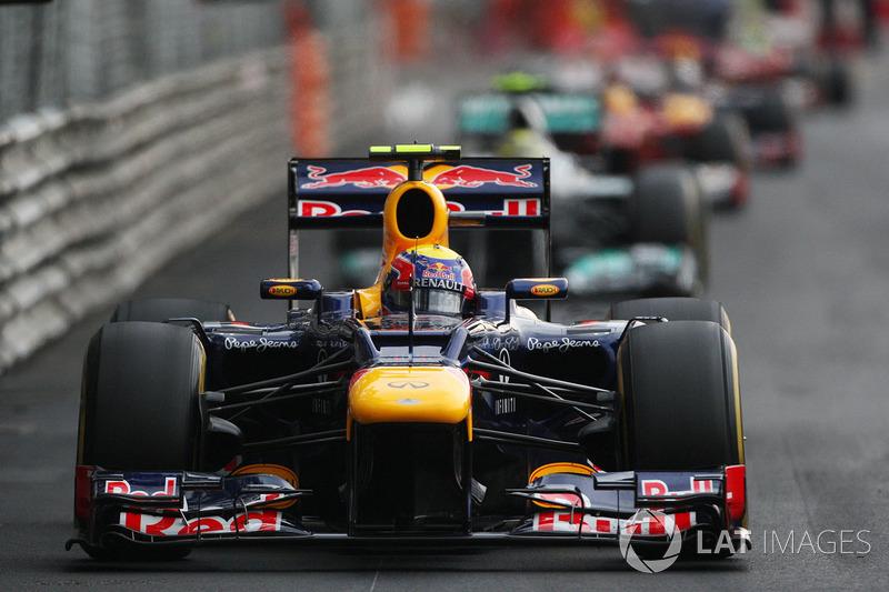 2012: Марк Уэббер, Red Bull-Renault RB8