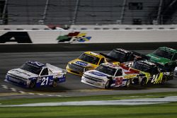 Johnny Sauter, GMS Racing Chevrolet Silverado leads