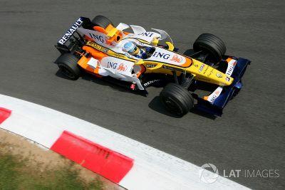 Testfahrten in Monza, August