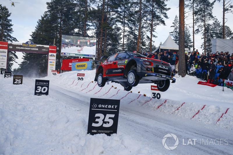 11. Мадс Остберг, Citroën C3 WRC - 8 очок