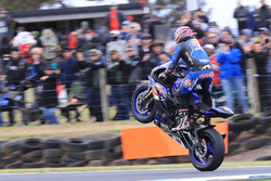 Yarış galibi Lucas Mahias, GRT Yamaha Official WorldSSP Team