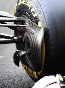 Sahara Force India VJM10 brake duct