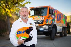 Javier Tamayo, KH-7 Epsilon Team Rally
